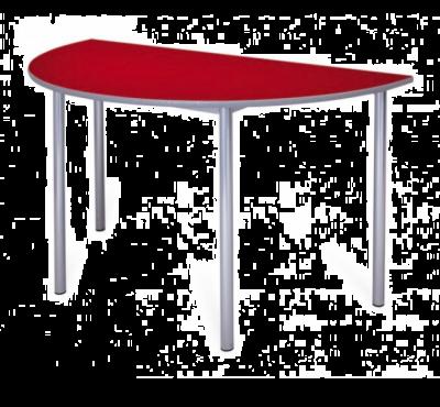 Premium MDF Semi-circular Classroom Table - 32mm Frame