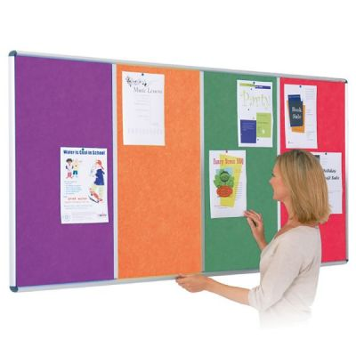 Shield Resist-a-Flame Multi-Panel Noticeboards