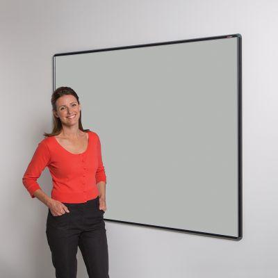 Shield Design Noticeboard - Black Frame