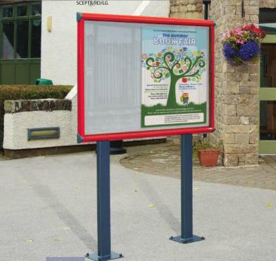 Exterior Showcase Noticeboards