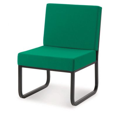 Premium Skid Base Reception Chair