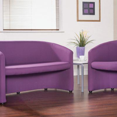Slender Fabric Tub Seating