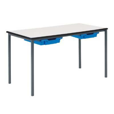 Newport MDF Classroom Table with Trays