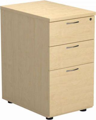 Innovate Deluxe 3 Drawer Desk High Pedestal