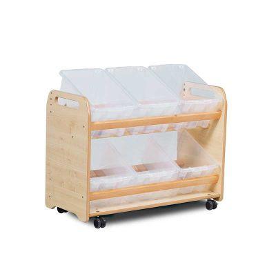 Tilt Tote Storage Trolley