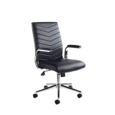 Martinez Leather Faced Executive Chair