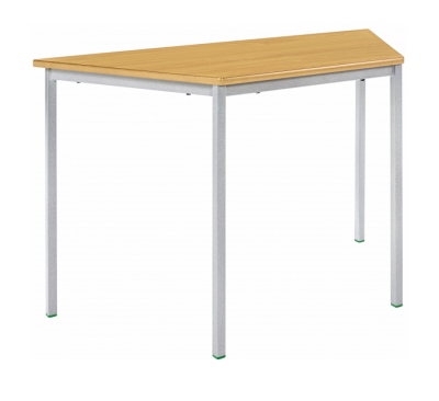 Newport PVC Edge Trapezoidal Classroom Table - Fully Welded