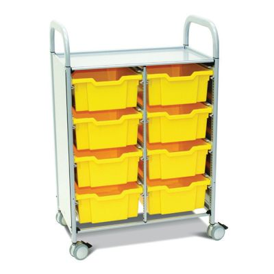 Metal Framed Mobile Tray Units