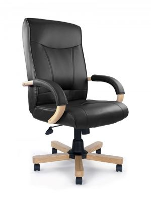 Troon High Back Leather Faced Executive Chair