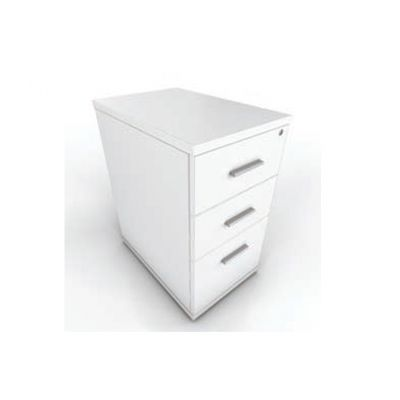 White Drawer Pedestals