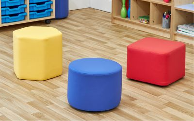 Vinyl Shapes - Breakout Seating