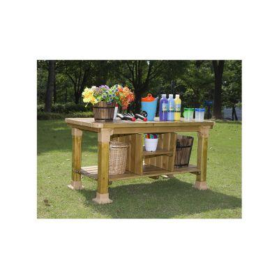 Outdoor Wooden Workbench