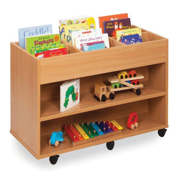 6 Bay & 2 Shelf Storage