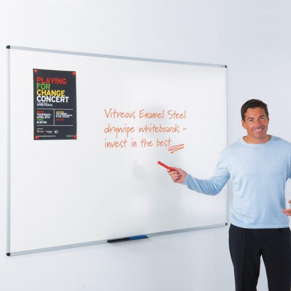 WriteOn vitreous enamel steel Whiteboard