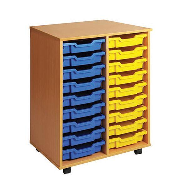 Double Column Storage Unit