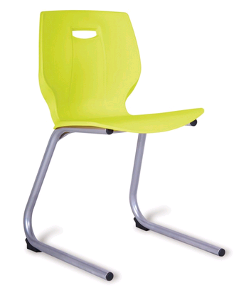 Geo Poly Reverse Cantilever Chair