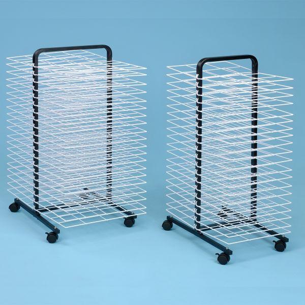 40 Shelf Mobile Drying Rack