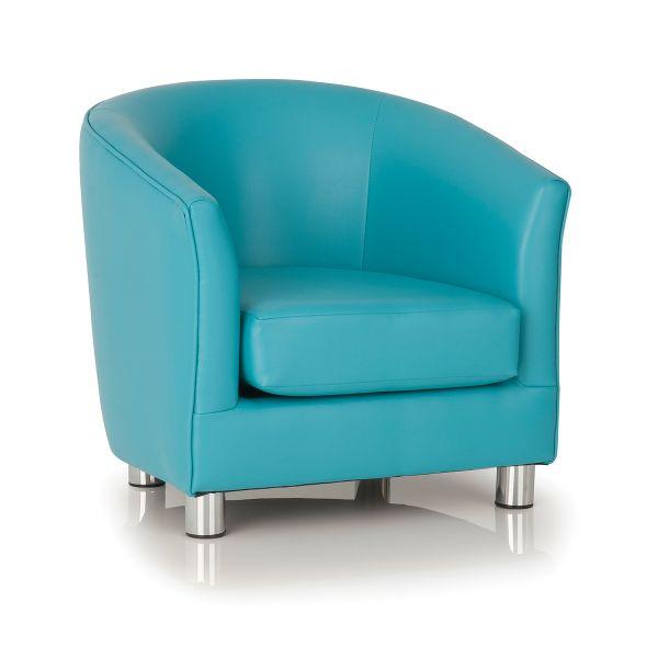 aqua designer tub chair