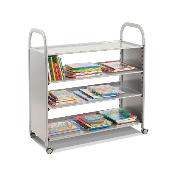 callero flat shelf trolley