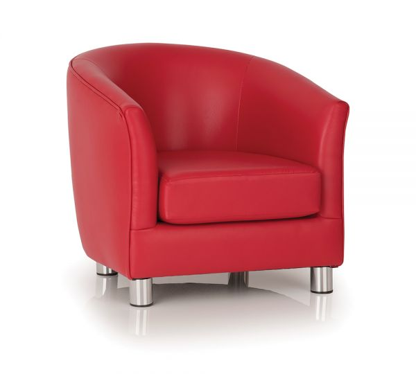 Tub Chair Red