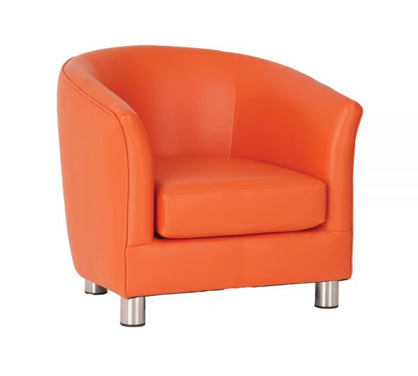 Tub Chair Orange