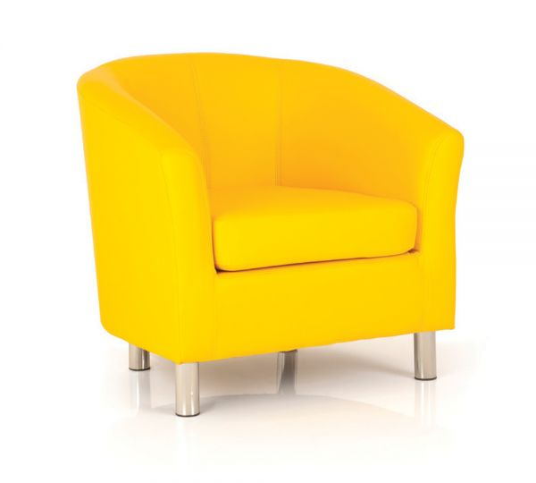 Tub Chair Yellow