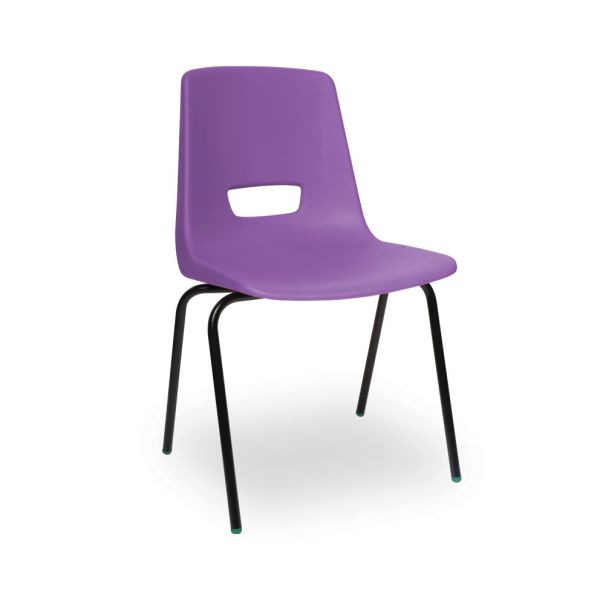 P3 Polypropylene Classroom Chair Purple