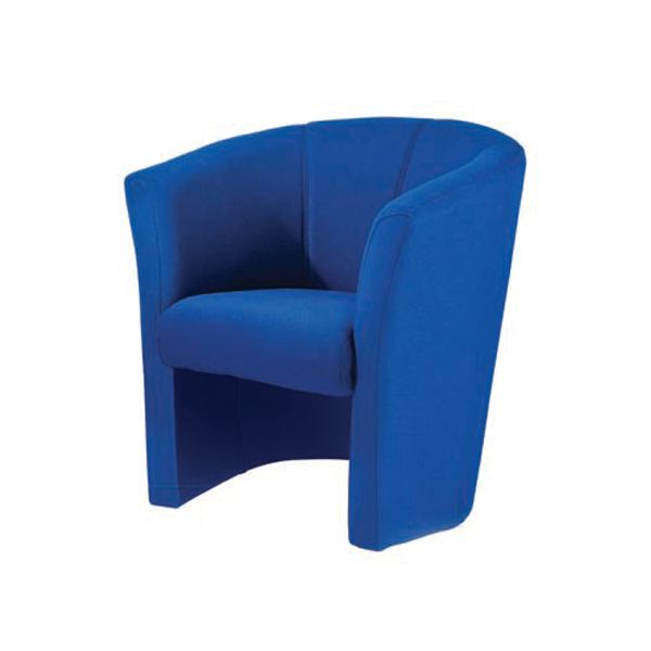 Designer Tub Chair Royal Blue