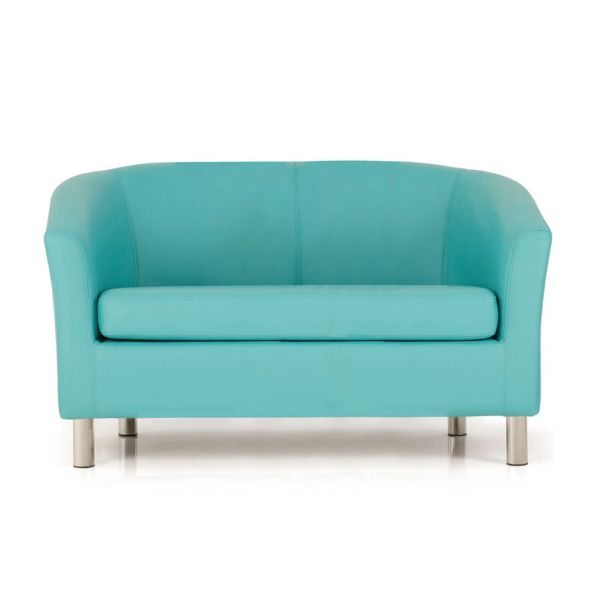 Adult Designer Double Tub Chair Aqua