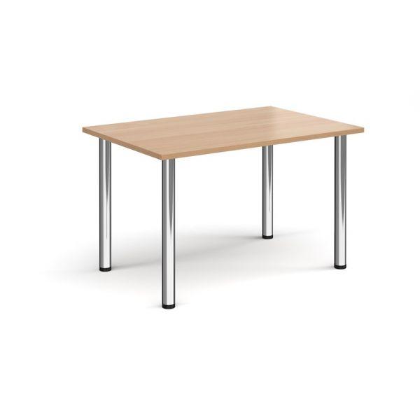Rectangular Radial Leg  Meeting Table