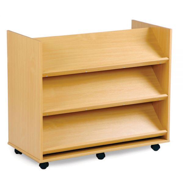 3 Angled Shelves each side