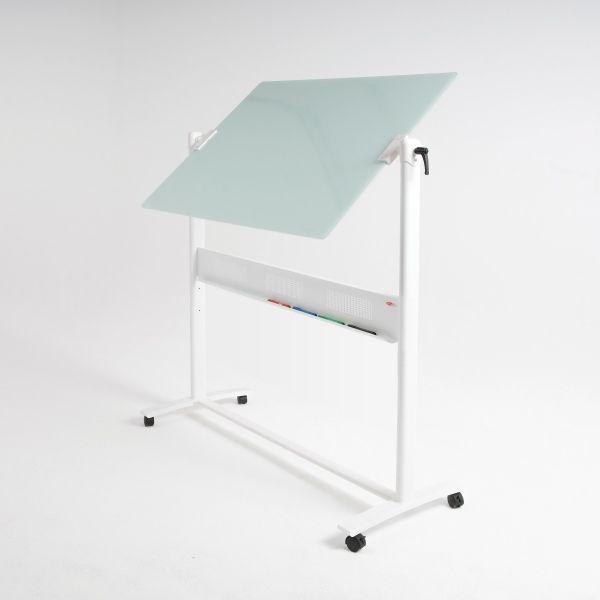 WriteOn Glass Revolving Whiteboard