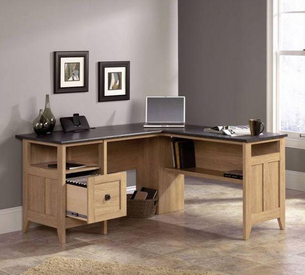 Home Study L Shaped Desk