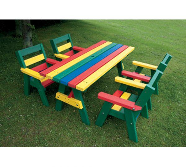 Junior Sloper Seating Including Table