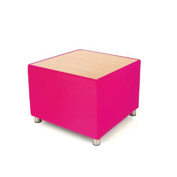 Kiddie Designer Coffee Table Flamingo Pink