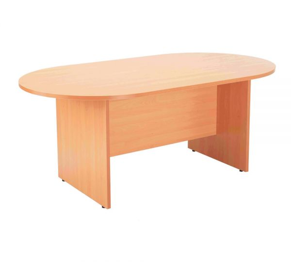 D End Meeting Table