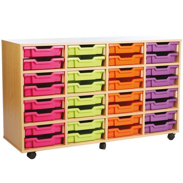 16 Deep/ 32 Shallow Tray Storage Unit