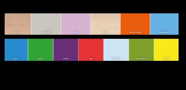 Standard Nursery Rectangular Table