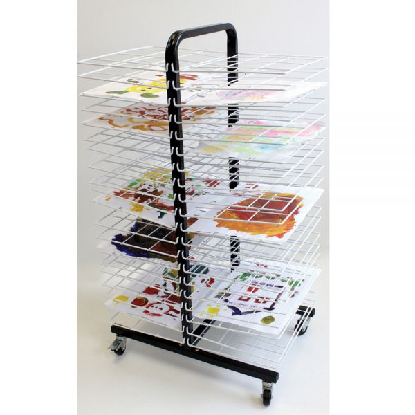 Mobile Drying Rack Double Sided A2 paper