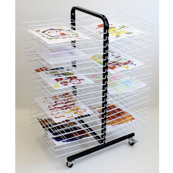 Mobile Drying Rack Double Sided A3 paper