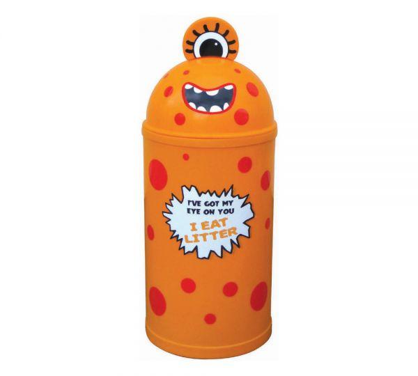 Monster Bin Orange