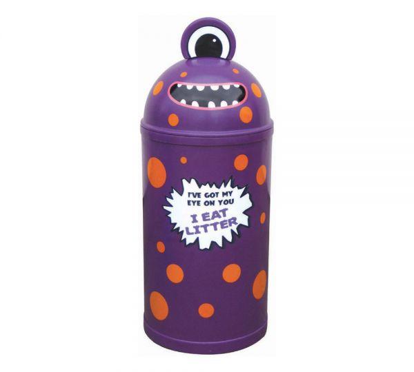 Monster Bin Purple