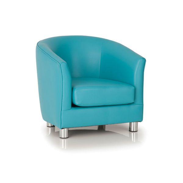 Kiddie Designer Single Tub Chair Aqua