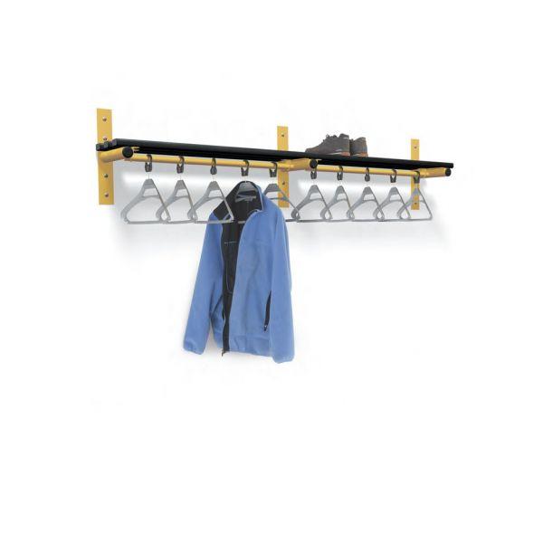Wall Mounted Shelf & Rails