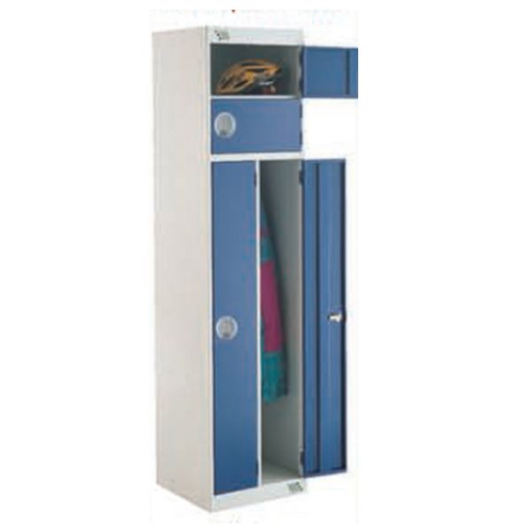 Utility Locker - Two Person 4 Compartment