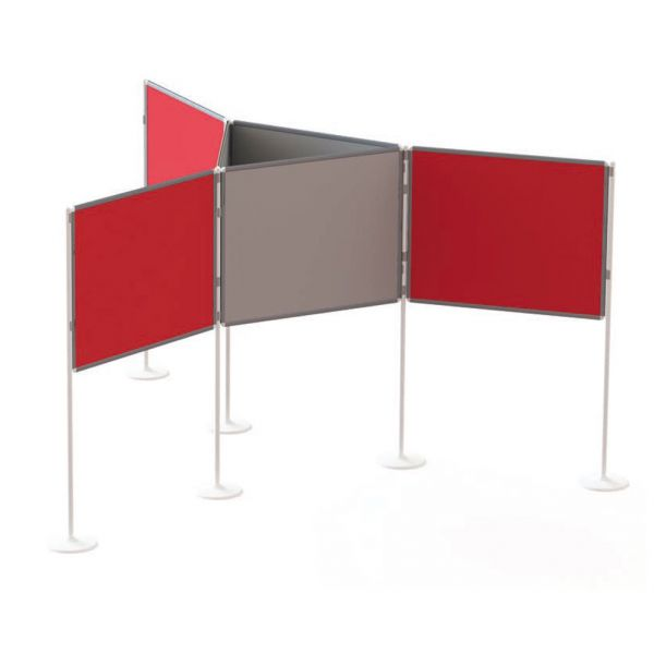 Large Pole And Panel Exhibition Kit