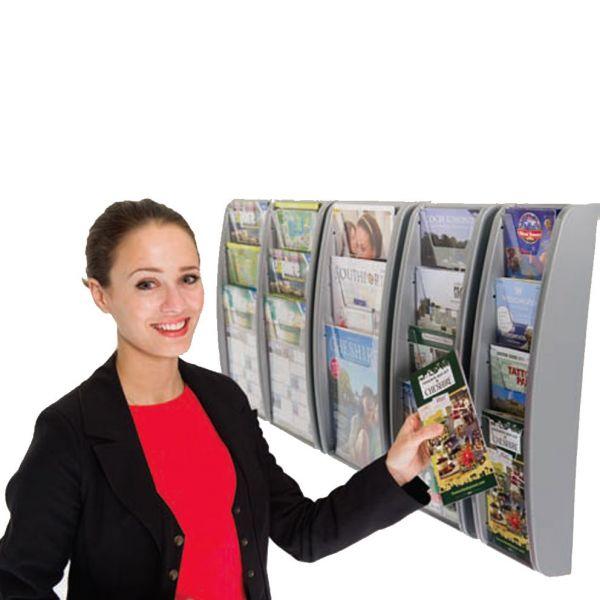 Wall Mounted Leaflet Dispenser