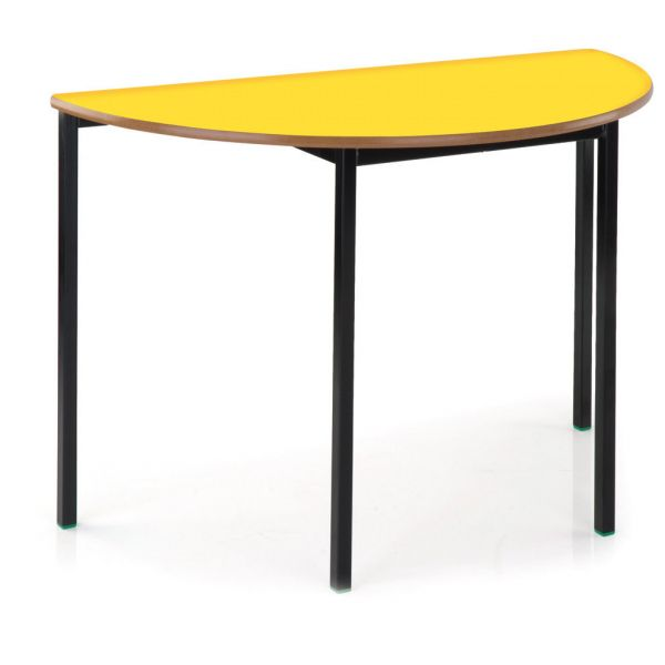 Newport MDF Edge Semi-Circular Table