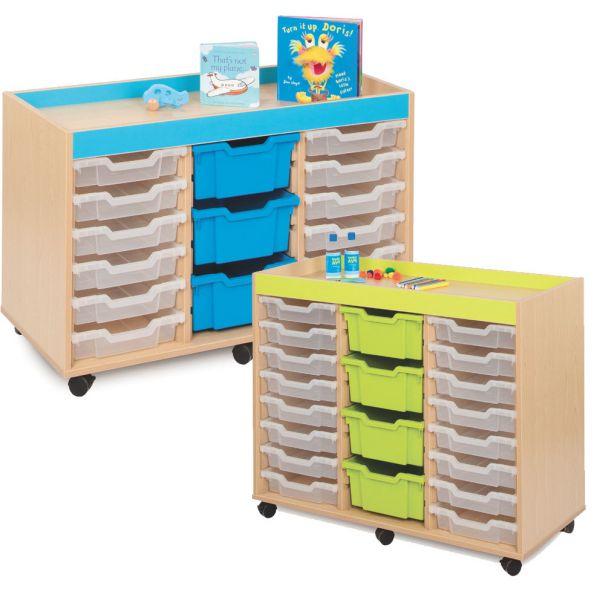 Bubblegum Storage Trays