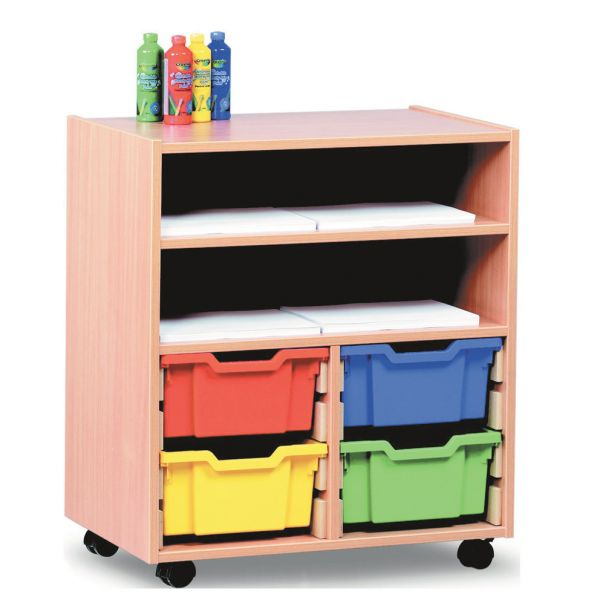 Tray Trolley Storage Unit